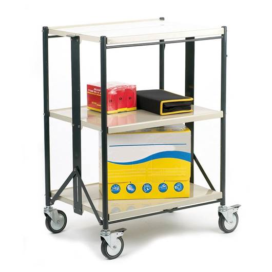 Picture of Steel Folding Shelf Trolley
