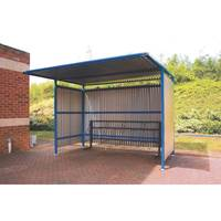 Picture of Traditional Cycle Shelters - Galvanised
