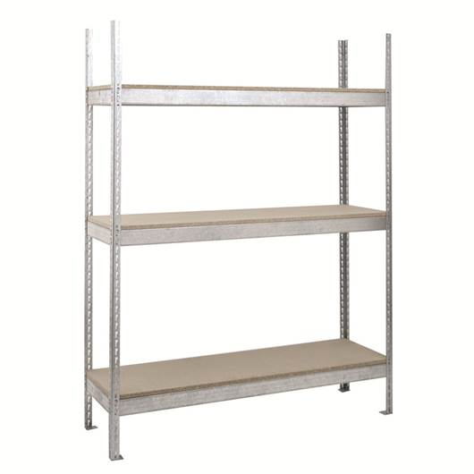 Picture of Heavy Duty Galvanised Shelving