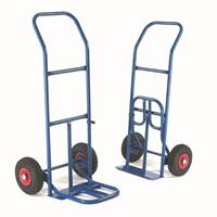 Picture of Folding Toe Sack Truck with Pneumatic Wheels