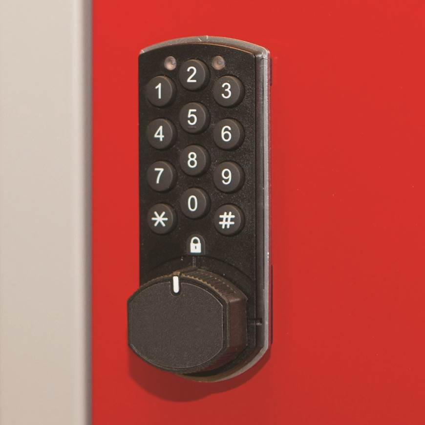 Picture of Electronic Combi Lock for Standard Lockers