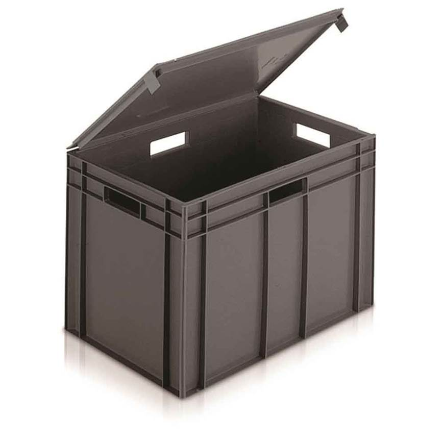 Picture of Euro Containers with Integral Lids