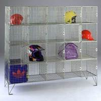 Picture of Wire Mesh Compartment Lockers with No Doors