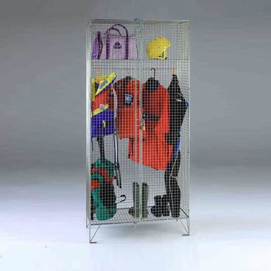 Picture of Wire Mesh Wardrobe Cupboard