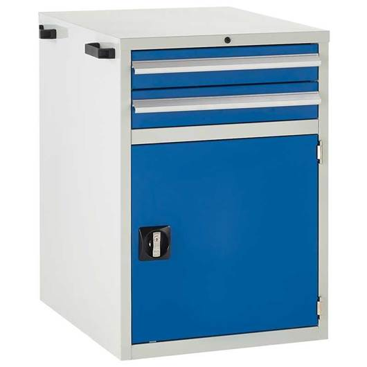 Picture of Euroslide Superbench Cabinet with Drawers & Cupboard