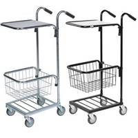 Picture of Distribution Trolleys with Adjustable Shelf & Basket