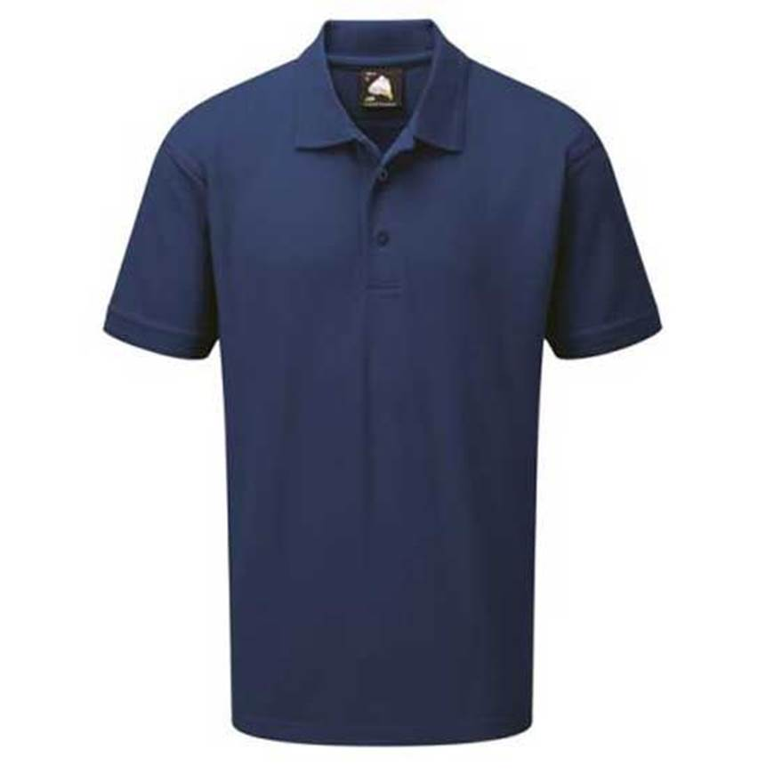 Picture of Mens Navy Polo Shirt