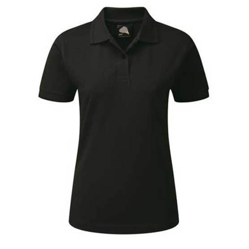 Picture of Womens Black Polo Shirt