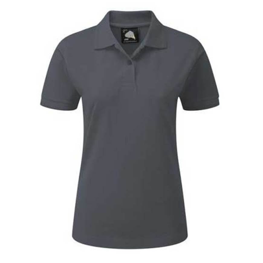 Picture of Womens Charcoal Polo Shirt
