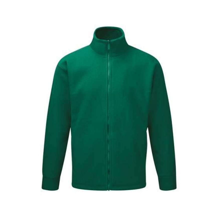 Picture of Mens Bottle Green Fleece Jacket
