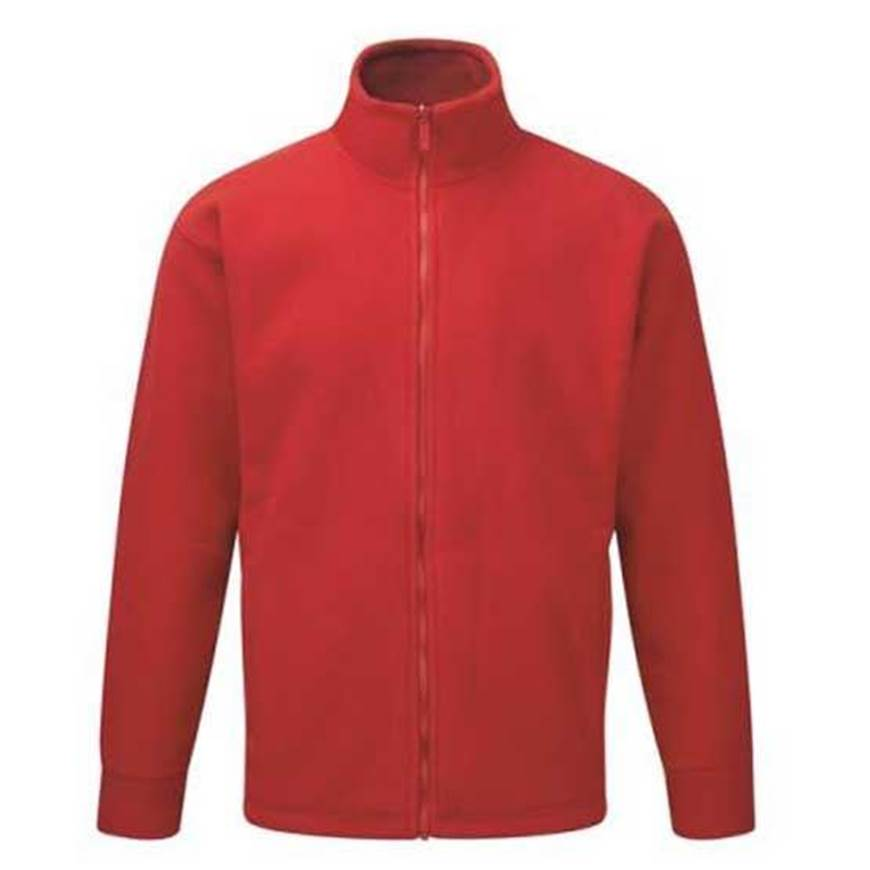 Picture of Mens Red Fleece Jacket