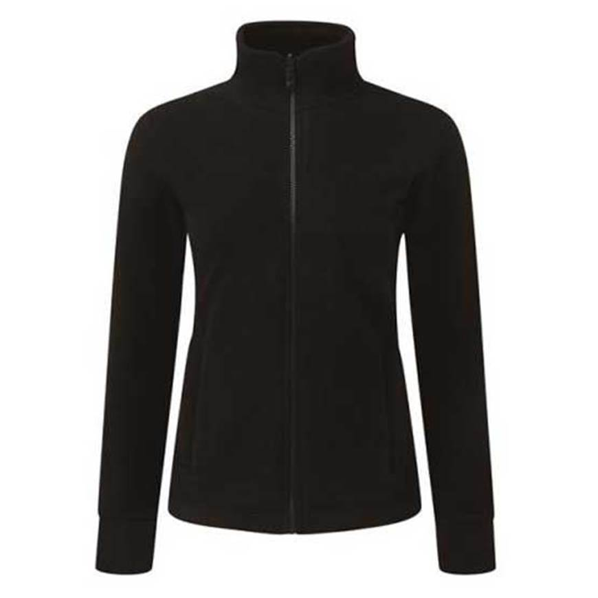 Picture of Womens Black Fleece Jacket