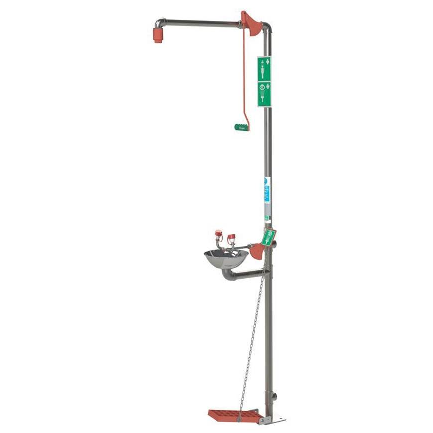 Picture of Indoor Emergency Safety Shower with Eye/Face Wash
