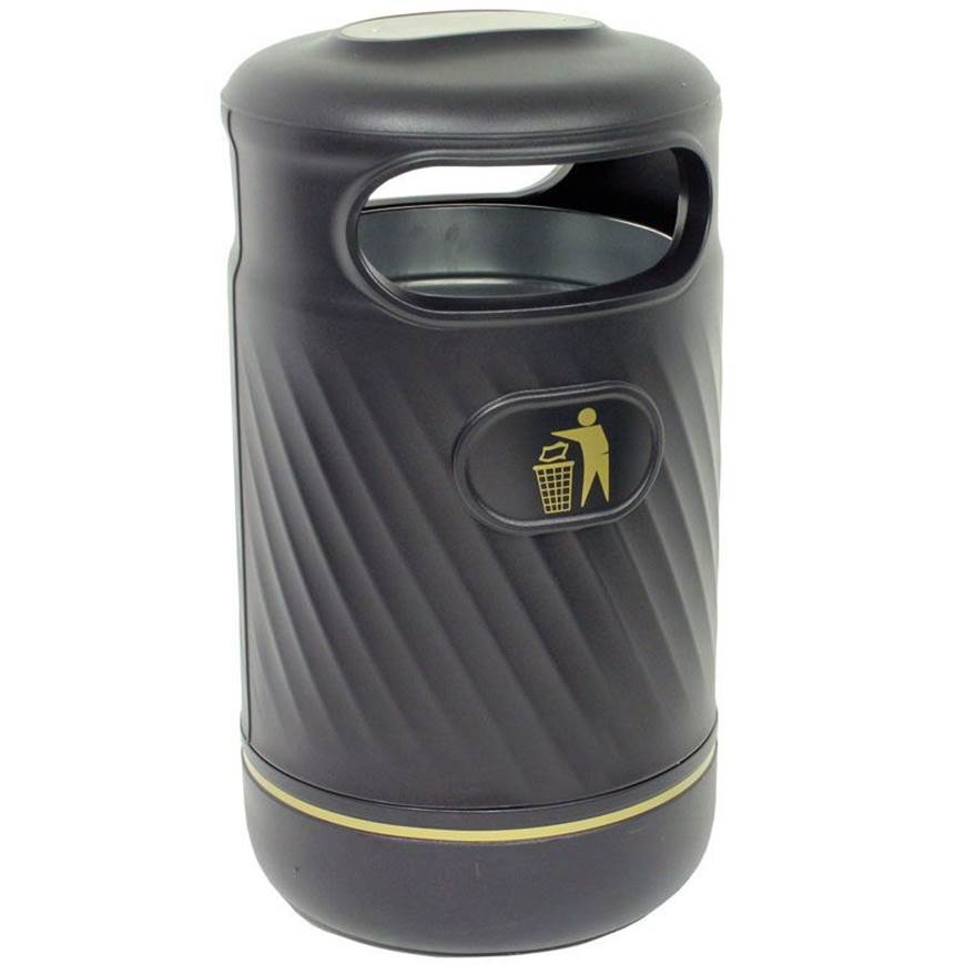 Picture of Outdoor Hooded Top Litter Bin