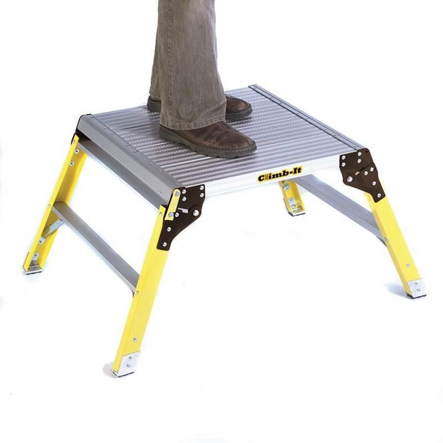 Picture of Climb-It Aluminium Platform with Glass Fibre Legs