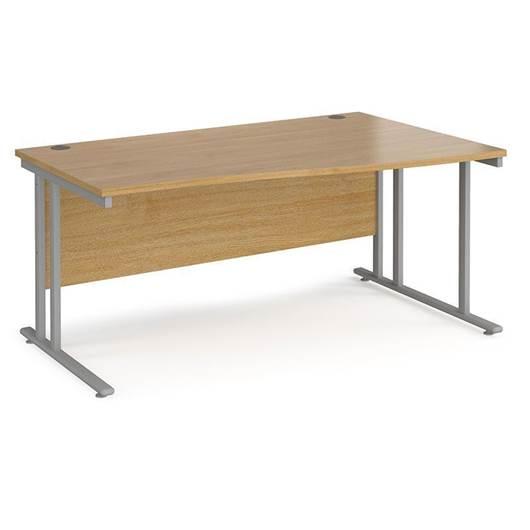 Picture of Maestro Desking - Wave Desk - White Worktop